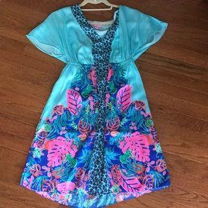 Lilly Pulitzer NWT Shorely Blue Islamorada dress